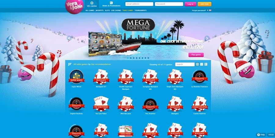 Benieuwd naar het online casino Vera&John? Lees dan snel de review over Vera&John op Gokkastcasino.eu! Echt alles wat je moet weten vind je in dit artikel!